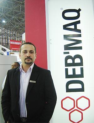 Eduardo Trevisan, gerente de marketing da Deb'Maq (Foto: Kleber Pinto)