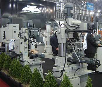 Estande da Kone Indústria de Máquinas (Foto: Kleber Pinto)