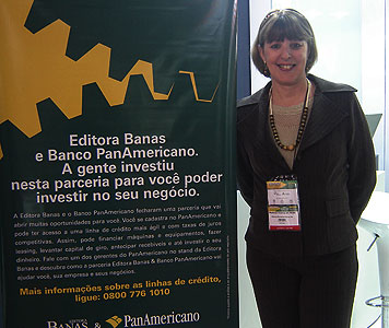 Marlene, gerente do Banco PanAmericano