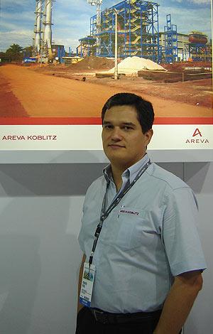 Romero Rêgo, diretor comercial da Areva (Foto: Kleber Pinto)